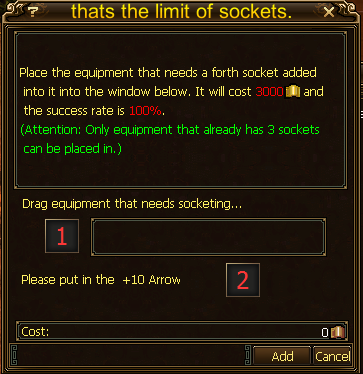 Can you add gem slots in diablo 3