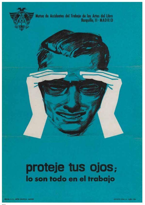 Cartel de prevención siglo XX