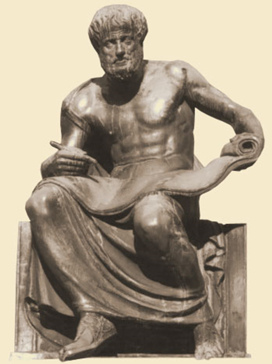 Image result for aristotle png statue
