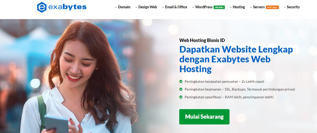 Hosting Terbaik Exabytes Indonesia