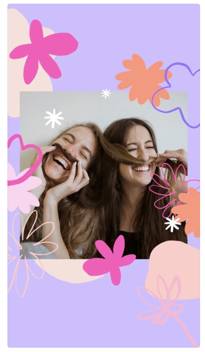 Canva International Women's Day Instagram Stories Template
