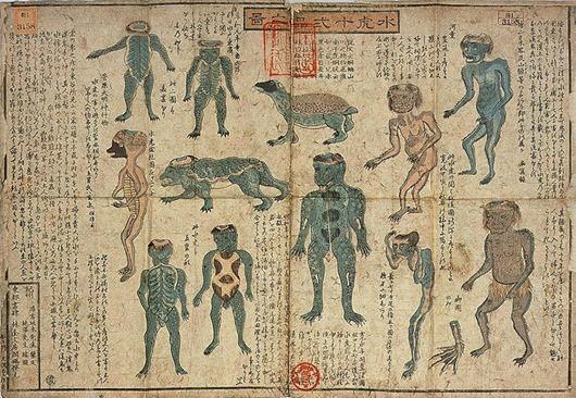 масса мифов и легенд о воде - водяные демоны Каппа
