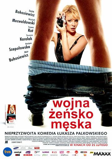 Przód ulotki filmu 'Wojna Żeńsko-Męska'