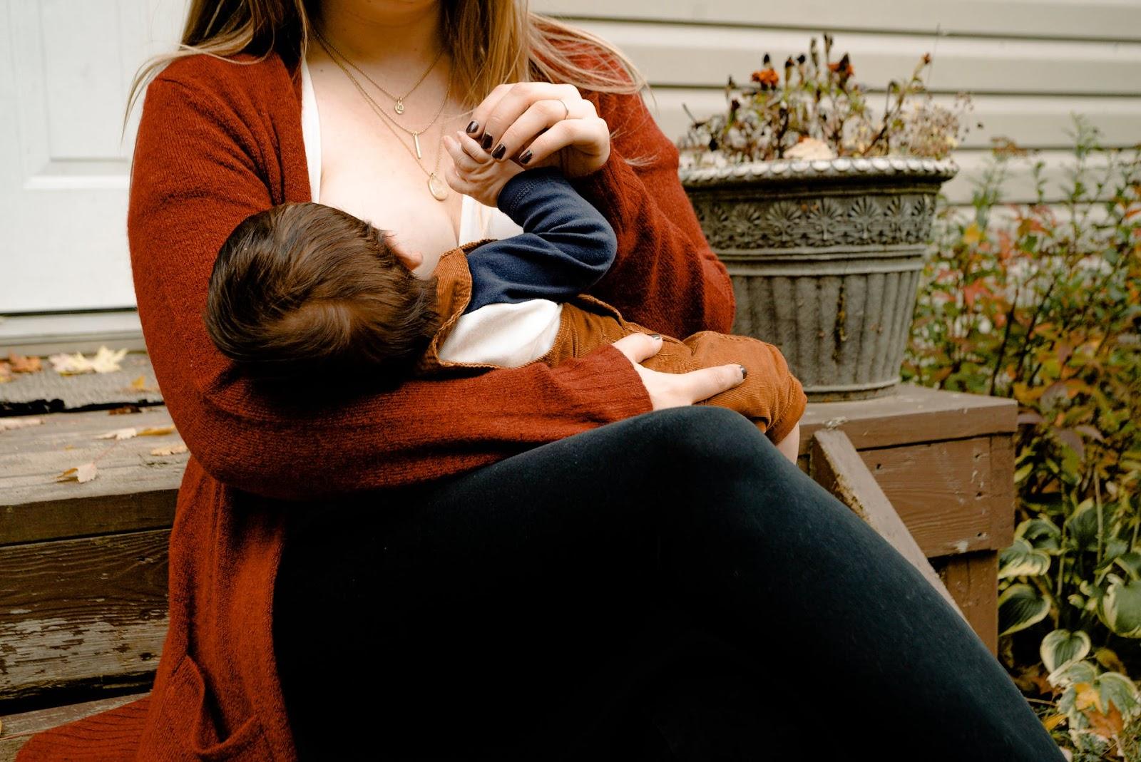 cluster feeding your newborn