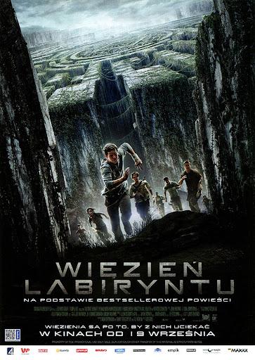 Przód ulotki filmu 'Więzień Labiryntu'