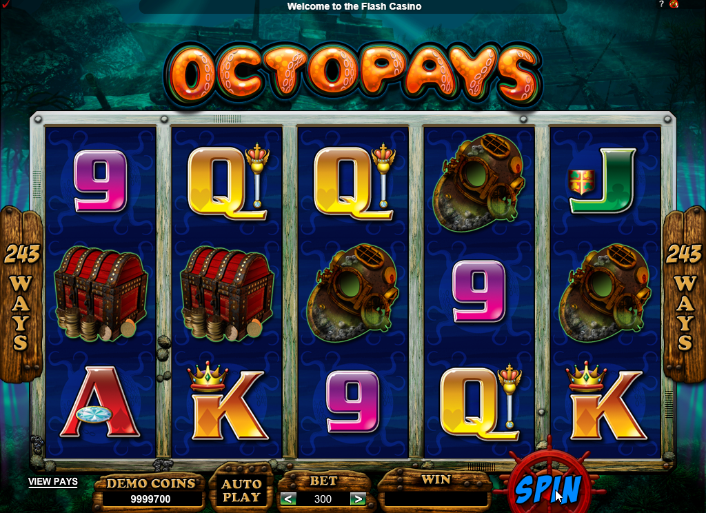 Octopays Slots Machine Review