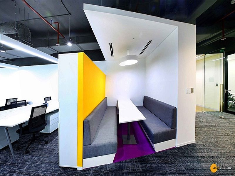 Không gian văn phòng sáng tạo của Garena