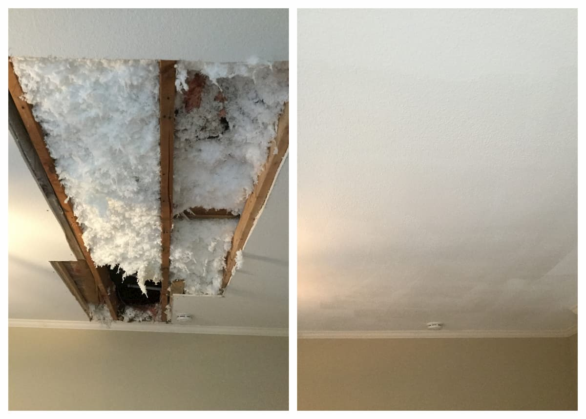 Mr. Handyman drywall repair services