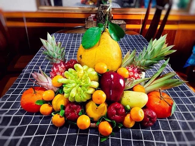 Ý nghĩa của từng loại quả trong mâm ngũ quả bàn thờ gia tiên ngày Tết