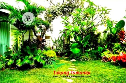 model taman tropis