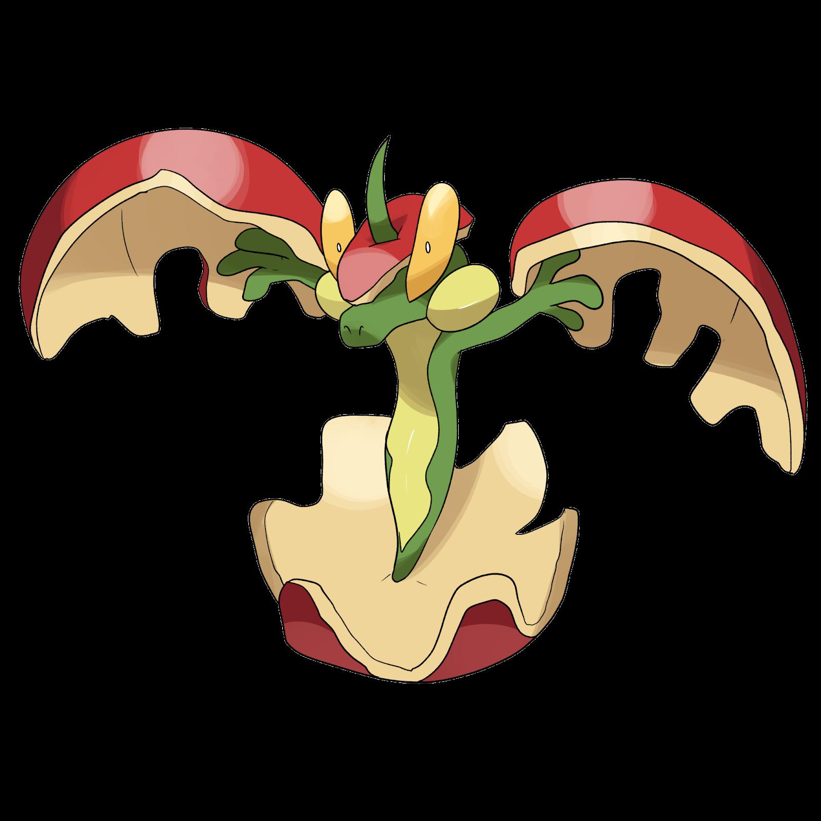 flapple Best Grass Type Pokemon
