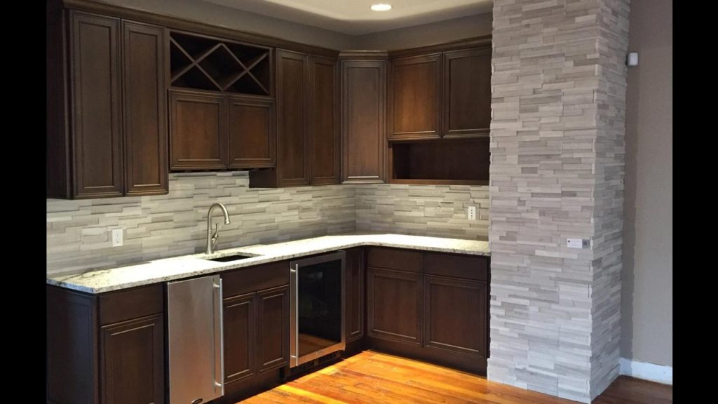 Common Kitchen Design Mistakes Overlooking Fillers And Panels: Stacked Stone Veneer Panels: 13 Design Ideas For Your Home