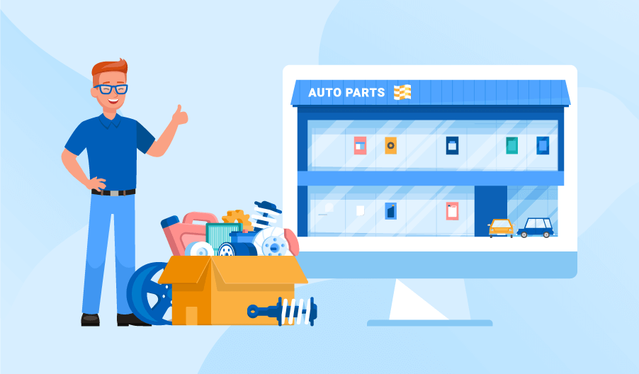 how to sell auto parts online