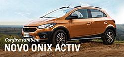 Conheça mais detalhes do modelo de carro Chevrolet novo Onix Activ 2018
