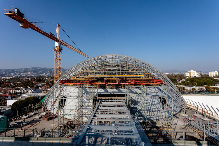 Academy Museum of Motion Pictures. Image Courtesy of Renzo Piano Building Workshop