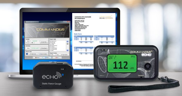Functional Capacity Evaluation Equipment and Software for Sale. Includes Echo Downloader and Northstar Software for Commander Echo SFG and SFG Max (Digital Static Force Gauge)
