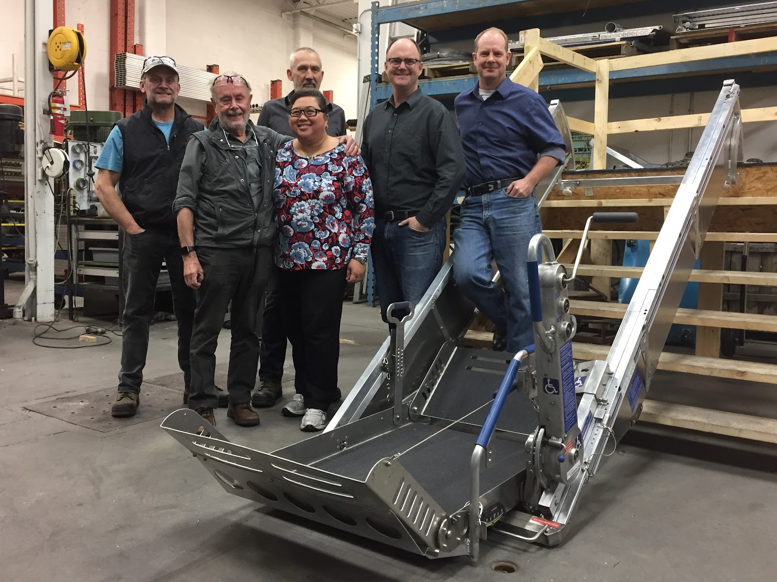For their market research, the Adaptive Concepts team interviewed 130 wheelchair users and caregivers to determine the need for an ultraportable, easy-to-assemble mechanical lift.