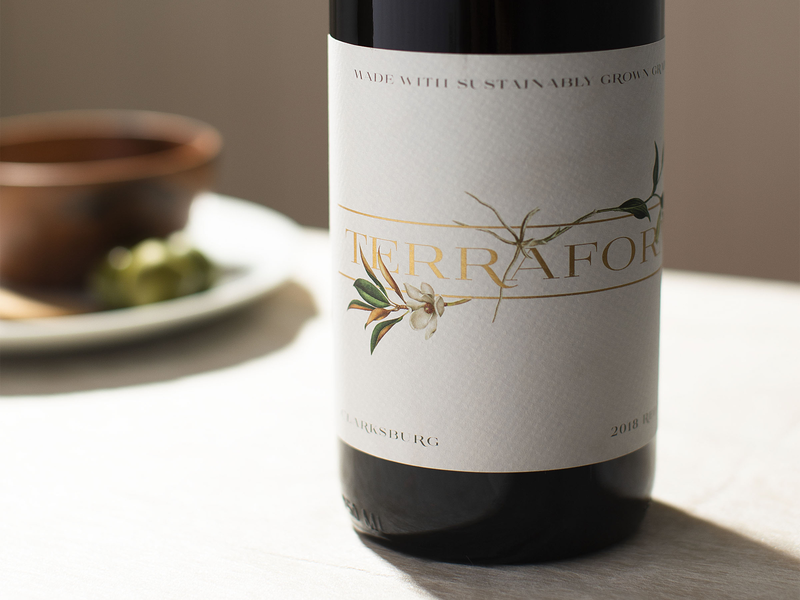 Terraform Wine Label Inspiration