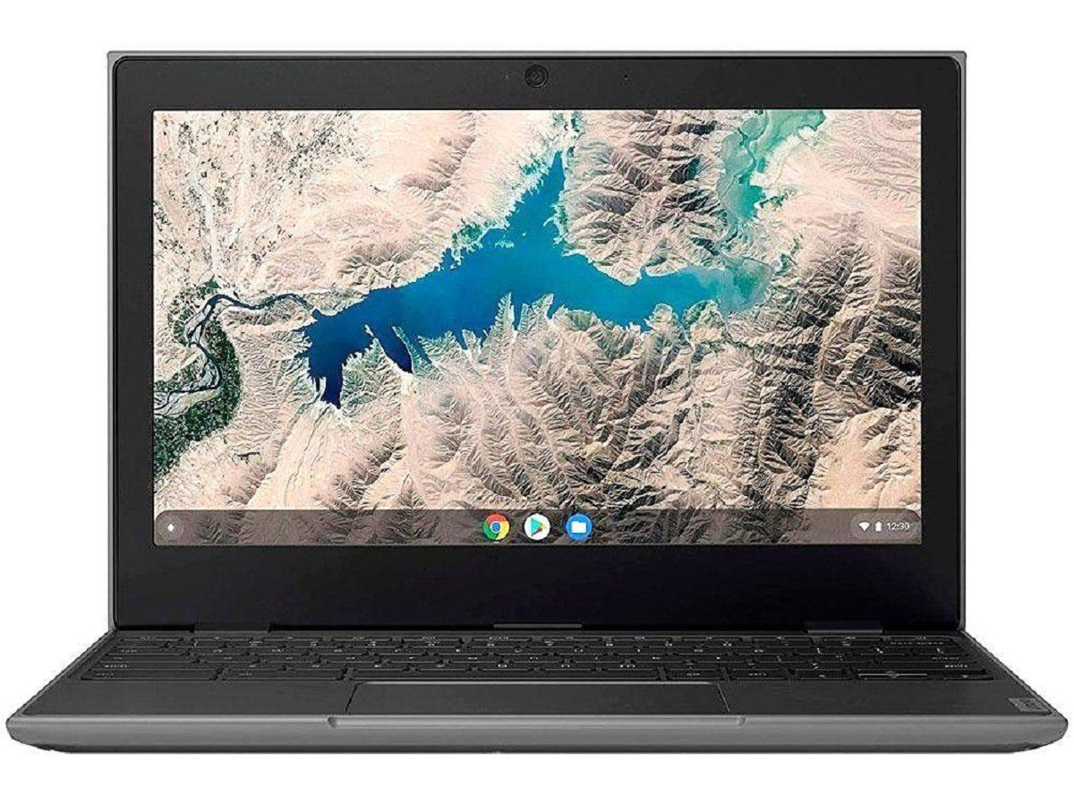 Imagem de notebook barato da marca   Lenovo Chromebook 100E