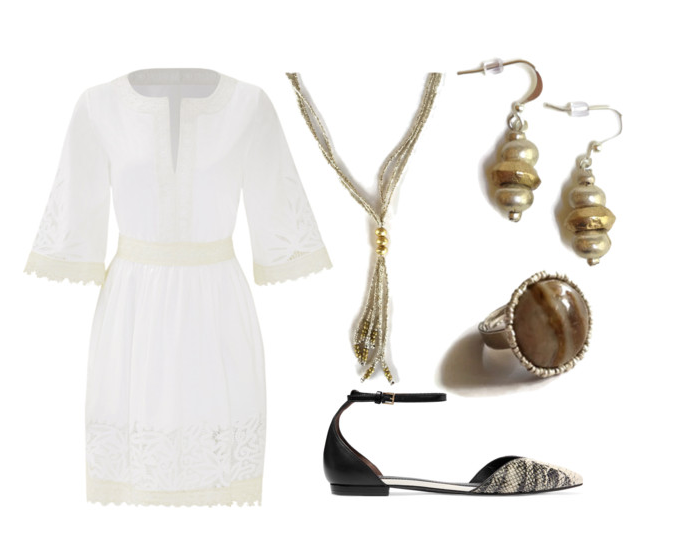 Tory Burch Inspired Look
