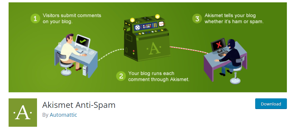 Akismet Anti-Spam WordPress Plugin