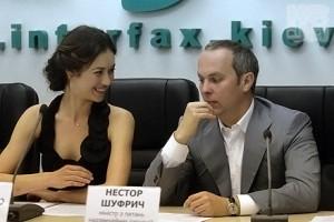 Нестор Шуфрич колись спонсорував фільм з голлівудською зіркою Ольгою Куриленко, бо володів найбільшою приватною газодобувною компанією України «Нафтогазвидобування». Досі має футбольний клуб «Говерла» (Ужгород)