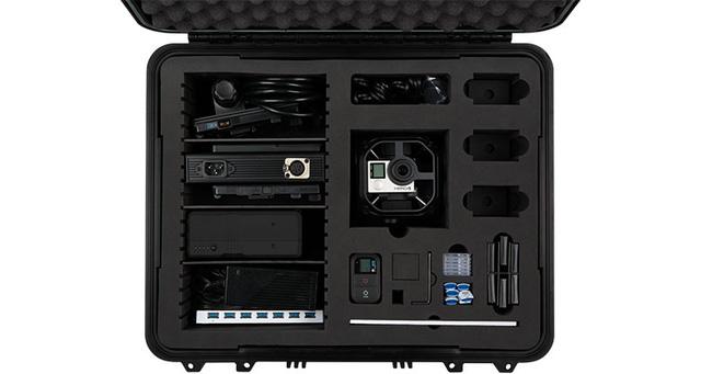 Trọn bộ máy ảnh GoPro Omni với đầy đủ các thiết bị đi kèm
