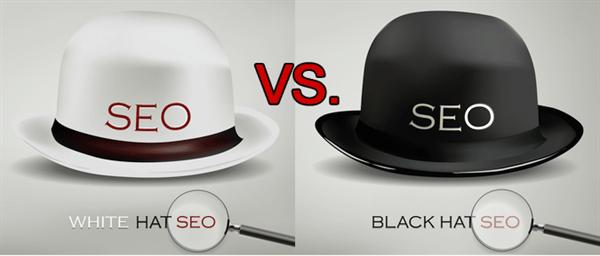 Seo mũ trắng và đen