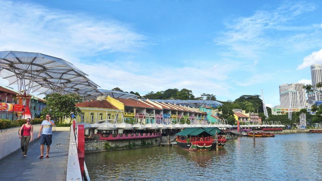 singapore Boat Quay
