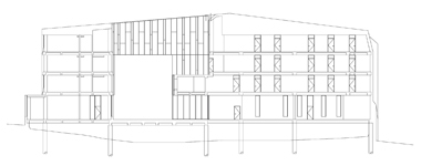 Arquitecture plan  crosssection