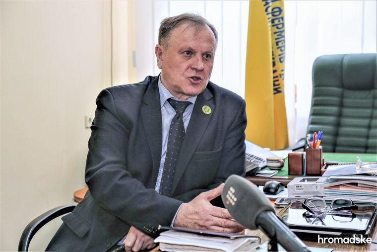 Президент ассоциации фермеров Украины Николай Стрижак