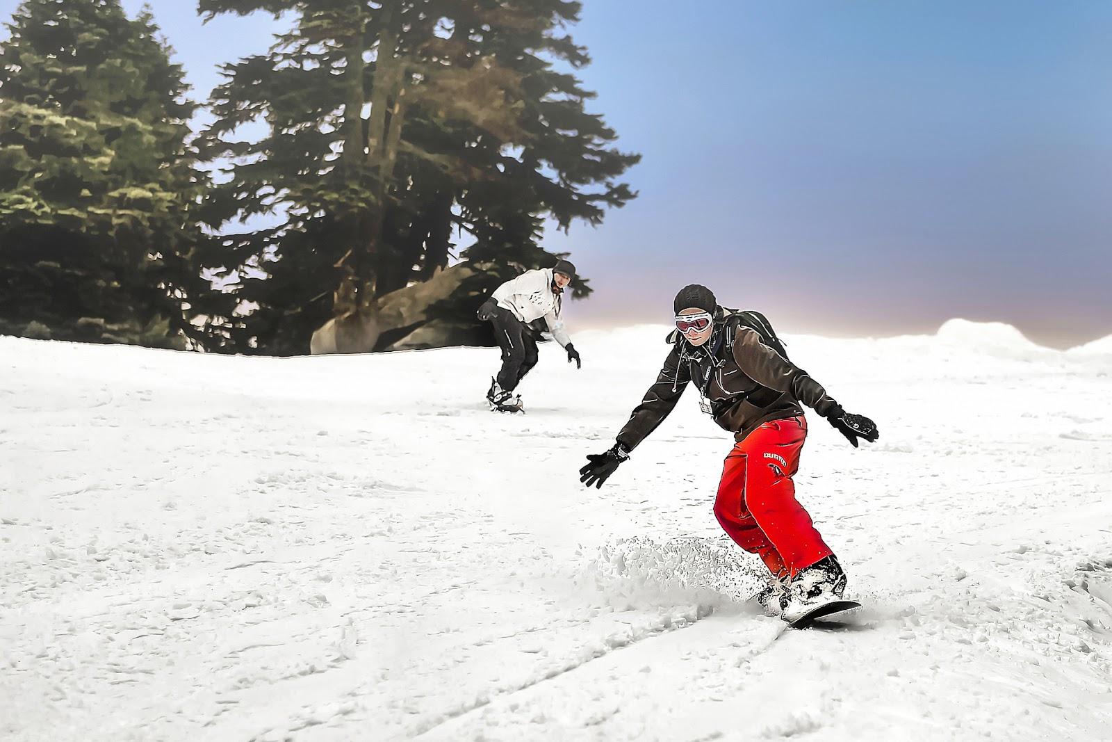 Trang phục và thiết bị phù hợp rất quan trọng đối với người trượt tuyết