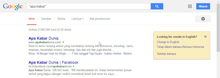 exact search