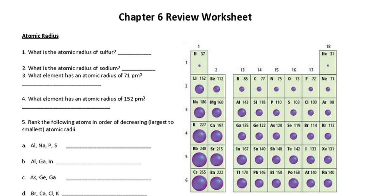 Chapter 6 Review Worksheet Google Docs