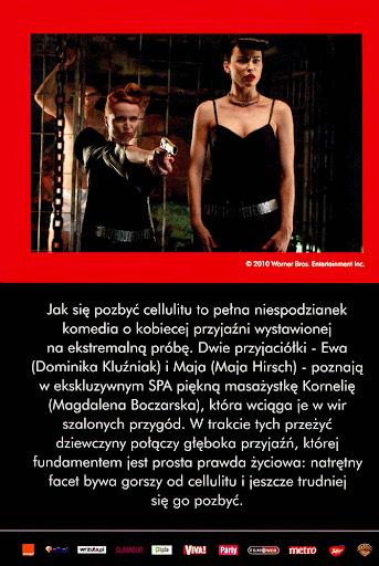 Tył ulotki filmu 'Jak Się Pozbyć Cellulitu'