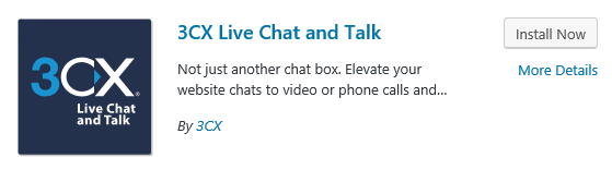Installing the 3CX Live Chat & Talk Plugin on WordPress