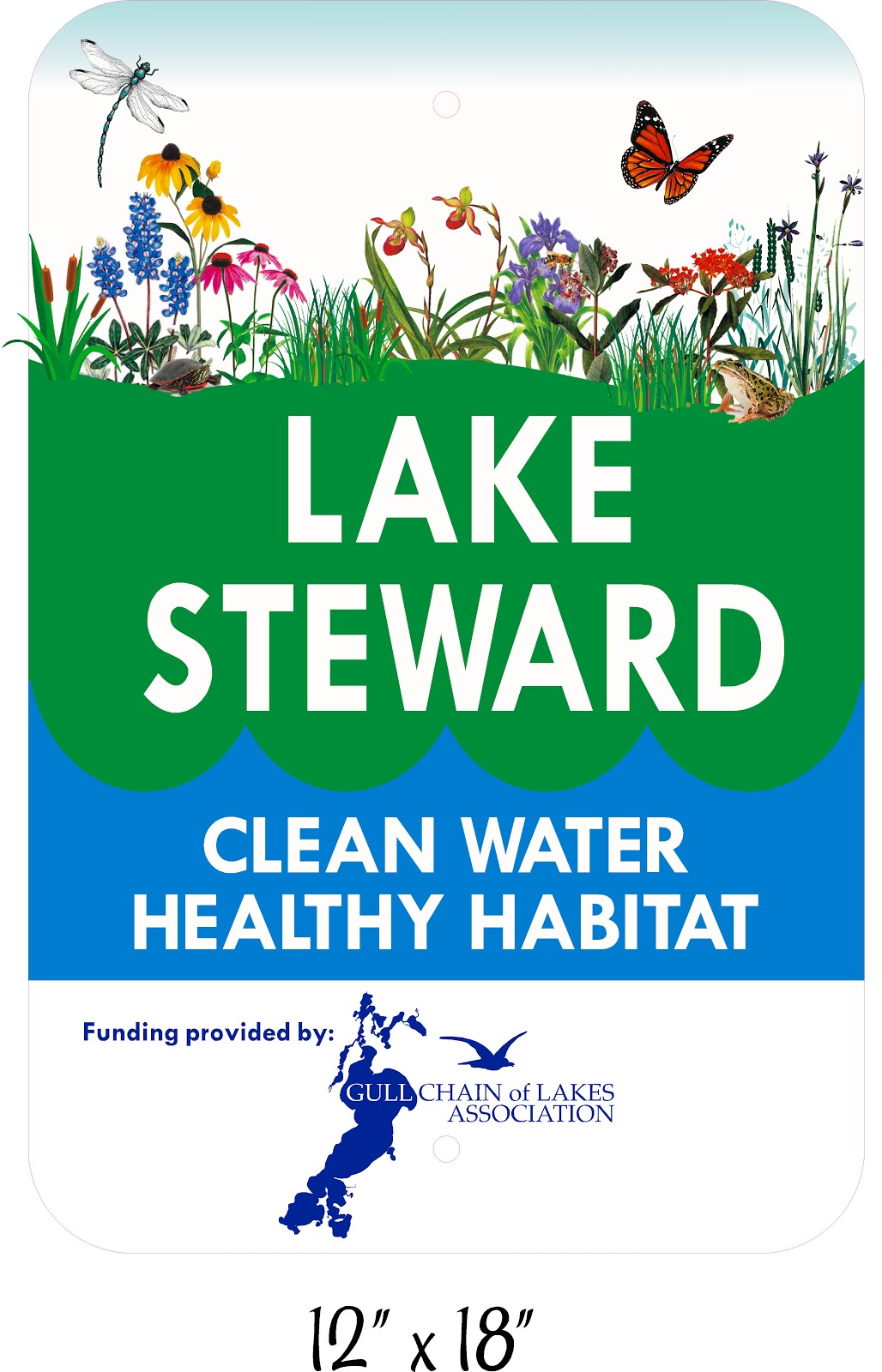 Image of Lake Steward sign example