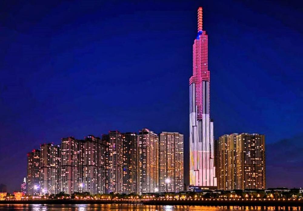 Tòa nhà cao nhất Việt Nam Landmark 81