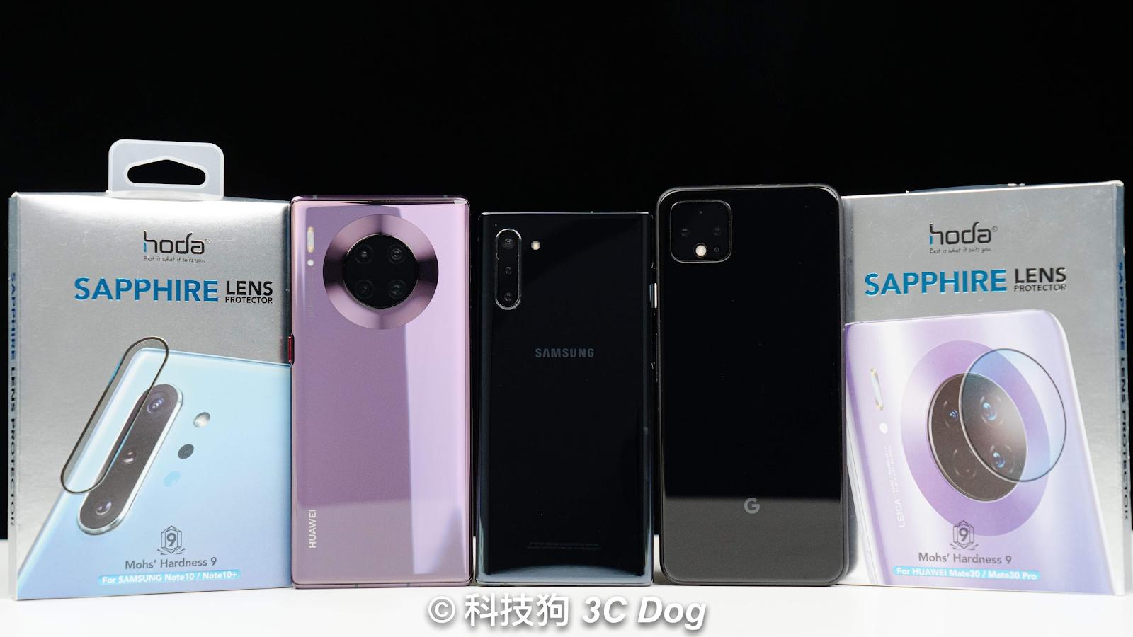 Android 鏡頭保護貼開箱 Galaxy Note10 系列 / Google Pixel 4 系列 / 華為 Mate30 Pro - 1