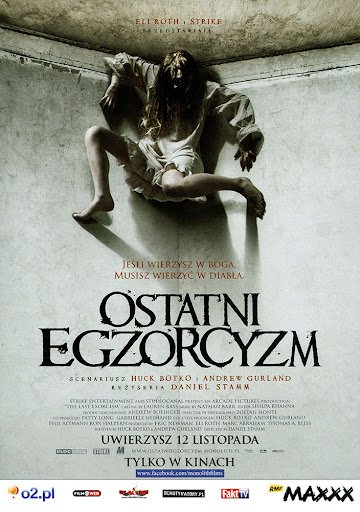 Przód ulotki filmu 'Ostatni Egzorcyzm'