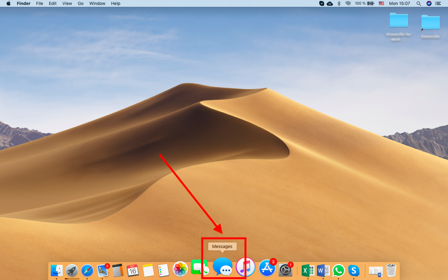 Launch the Messages application on your Mac