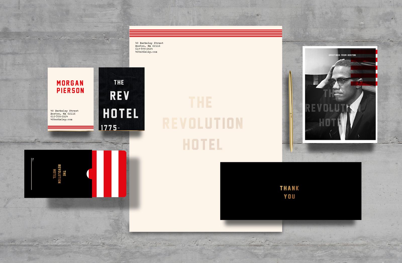 Fully-Immersive Brand Identity for The Revolution Hotel