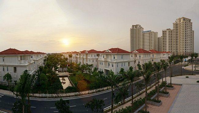Tổng thể dự án khu đô thị splendora an khánh Hà Nội