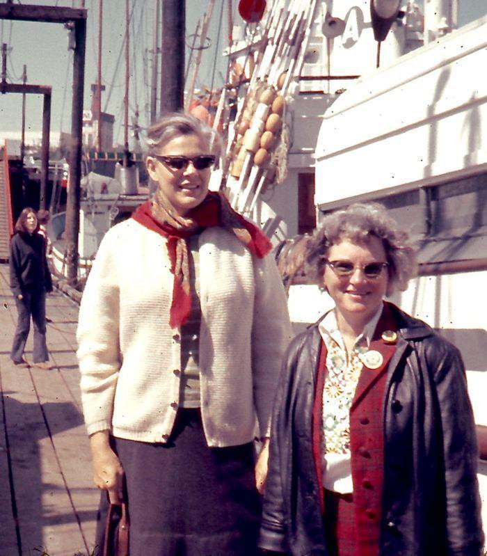 Dorothy Stowe e Marie Bohlen.  © Greenpeace