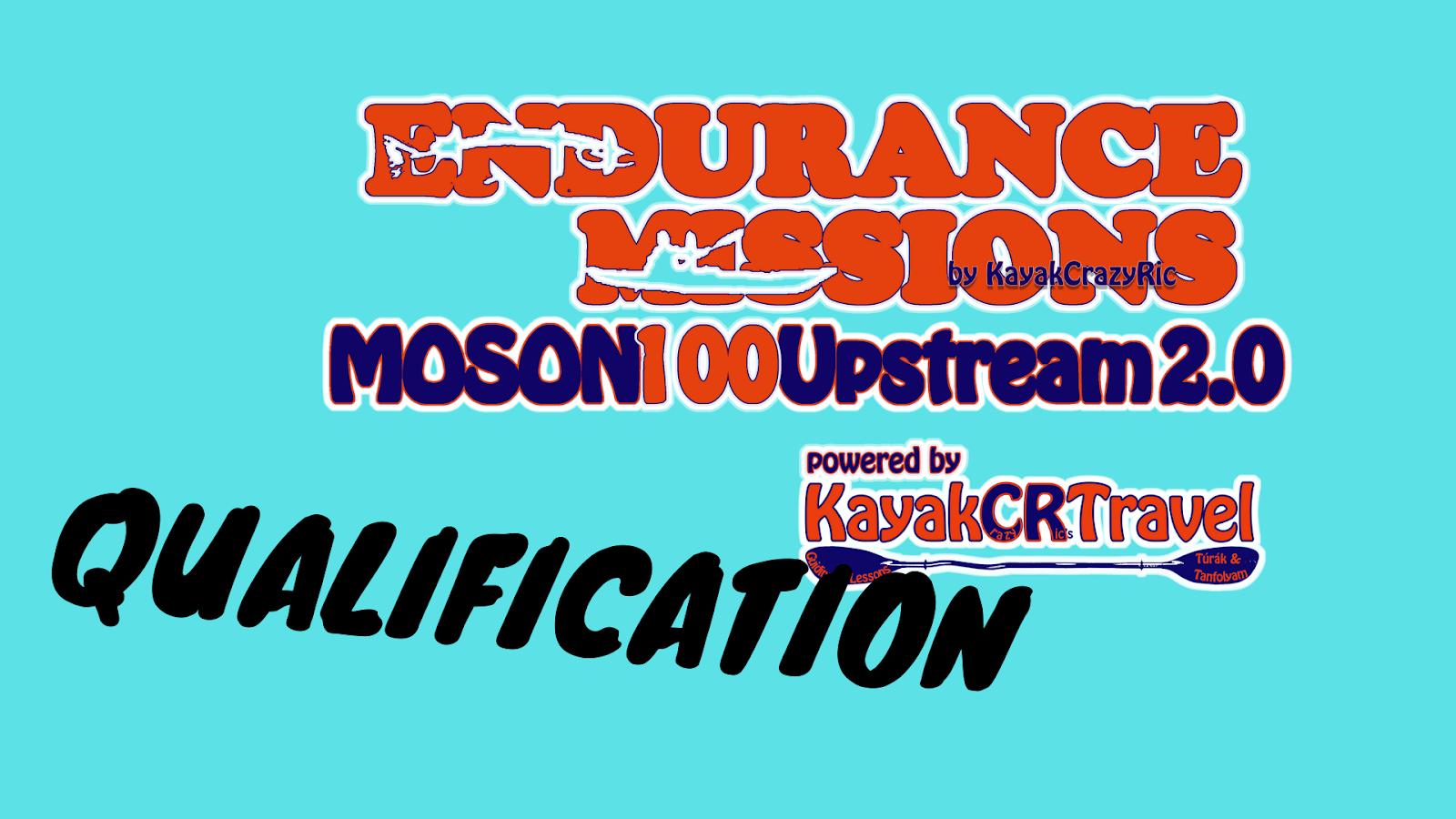 Endurance Mission-Mosoni100Upstream 2.0