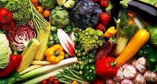 vegetables with corn, broccoli, peppers, squash
