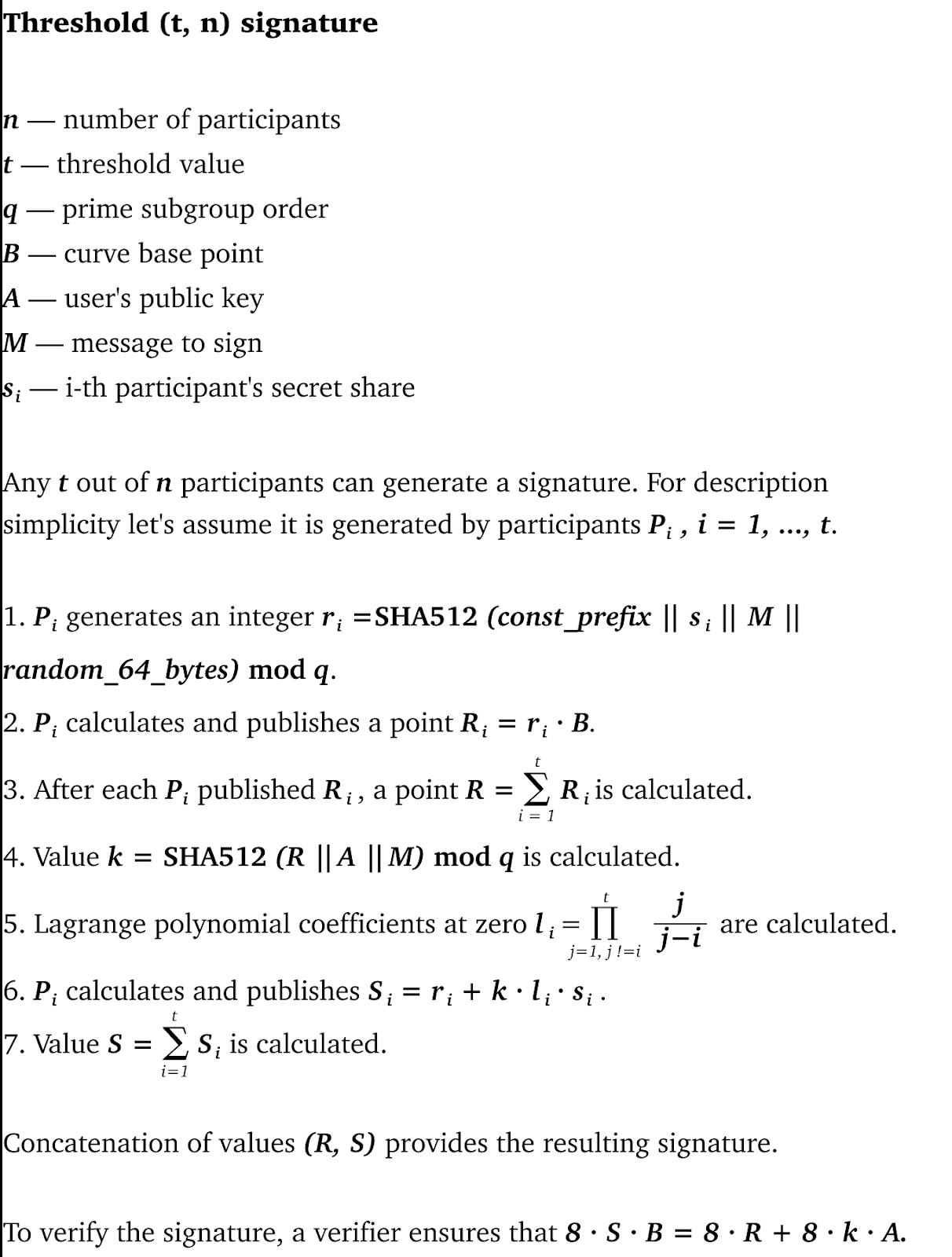 Threshold Cryptography