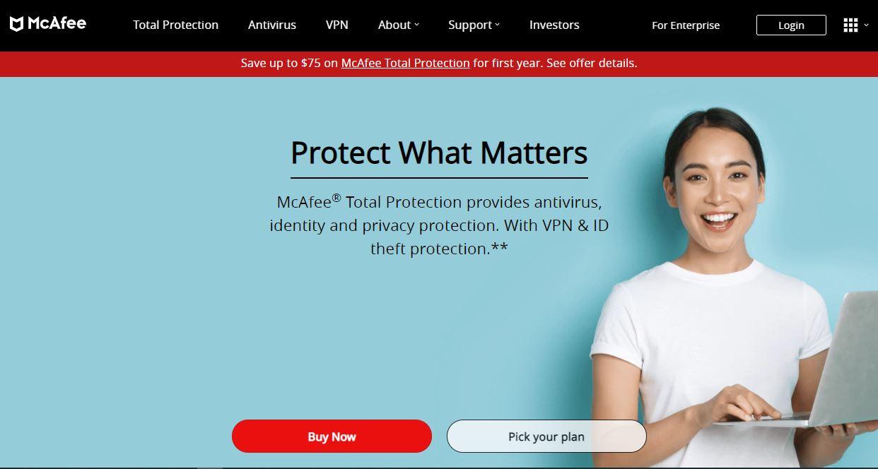 McAfee Cybersecurity Company