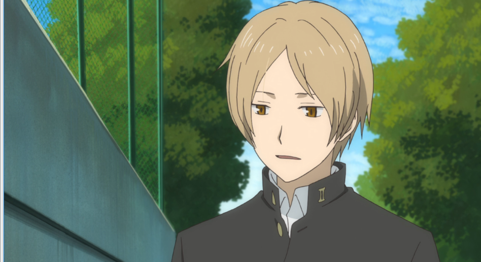 Natsume, looking down uncertainty