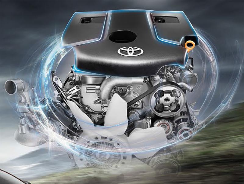 เครื่องยนต์รถยนต์ : Toyota Hilux Revo Rocco